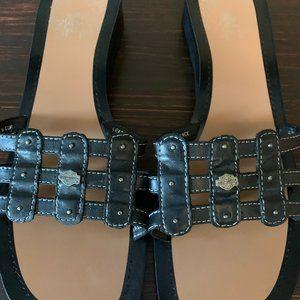 Harley Davidson Leather Sandals